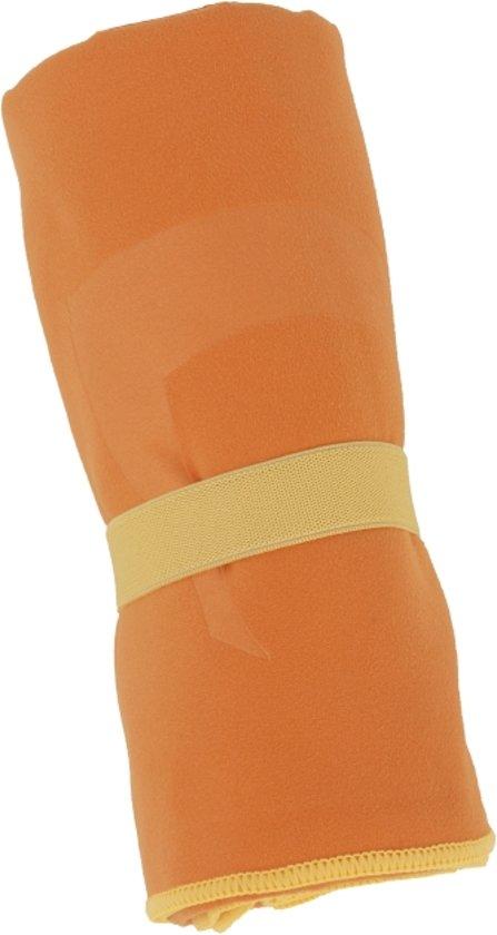 Clarysse Microvezel sneldrogende handdoek 50x100 Oranje