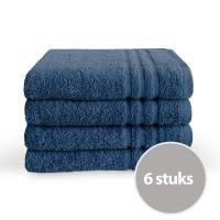 Byrklund handdoek 50 x 100 Blauw - 6 stuks