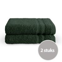 Byrklund Gastendoek Donker Groen 30x50 cm - 2 stuks
