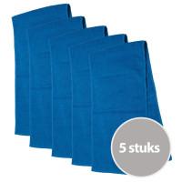 The One Sporthanddoek 450 gram Turquoise (5 stuks)