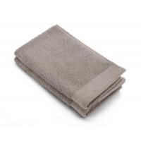 Walra Soft Cotton Gastendoek 30 x 50 cm 550 gram Taupe - 2 stuks
