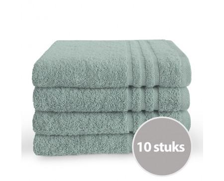 Byrklund Handdoek 50 x 100 cm Zeeblauw - 10 stuks