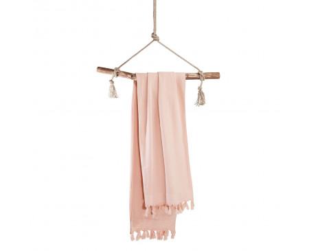 Walra Soft Cotton Hamamdoek 100x180 cm 650 gram Roze