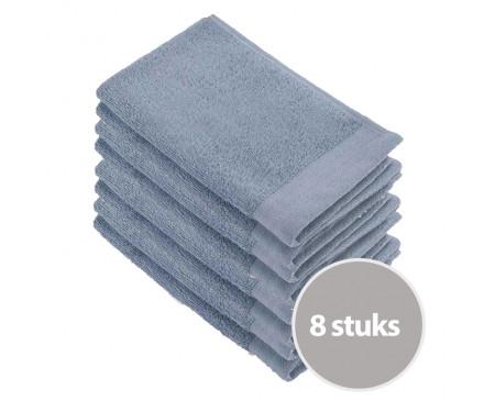 Walra Voordeelpakket Gastendoekjes Blue - 8 stuks