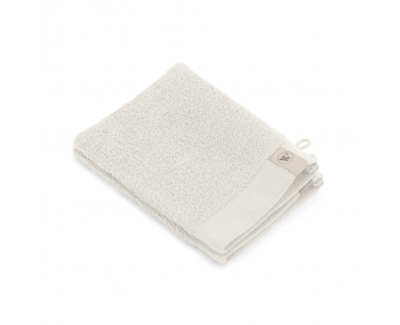 Walra Soft Cotton Washandje 16x21 cm 550 gram Stone Grey