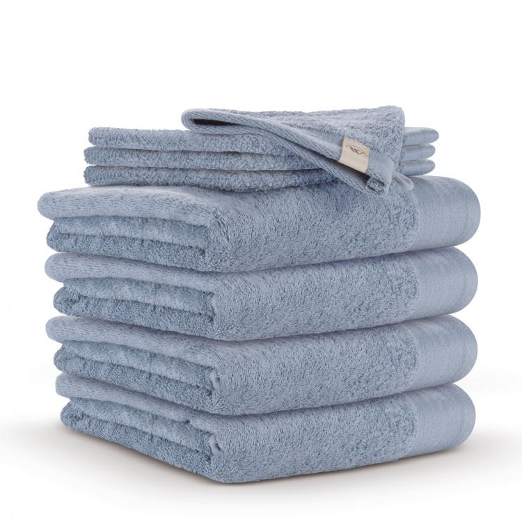 walra voordeelpakket handdoeken 50x100 blue