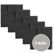 The One Keukendoek 50 x 50 cm Antraciet - 5 stuks