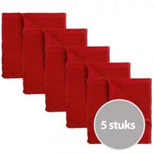 The One Keukendoek 50 x 50 cm Rood - 5 stuks
