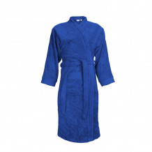 The One Classic Badjas zonder capuchon 340 gram Royal Blue