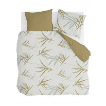 Walra Dekbedovertrek Remade Bamboo Grasses Honing Mosterd