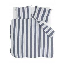Walra Dekbedovertrek Remade Nautic Stripes Donker Blauw