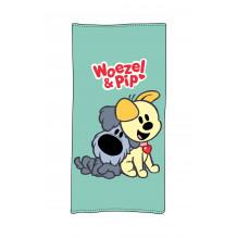 WOEZEL & PIP Strandlaken W&P Aqua, 75x150
