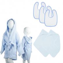 6-Delig The One Babypakket Light Blue