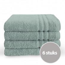 Byrklund Handdoek 50 x 100 cm Zeeblauw - 6 stuks
