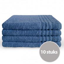 Byrklund Voordeelpakket Badlaken 70 x 140 Blauw - 4 stuks