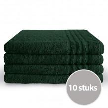 Byrklund Handdoek 70 x 140 cm Donker Groen - 10 stuks