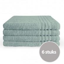 Byrklund Handdoek 70 x 140 cm Zeeblauw - 6 stuks
