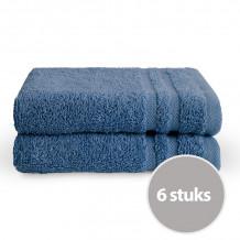Byrklund Gastendoek Blauw 30x50 cm - 6 stuks