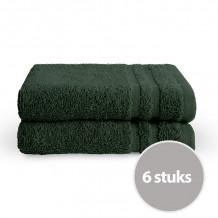 Byrklund Gastendoek Donker Groen 30x50 cm - 6 stuks
