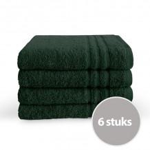Byrklund Handdoek 50 x 100 cm Donker Groen - 6 stuks