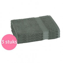 Clarysse Voordeelpakket Talis Badlaken 70x140 cm 500gram Donkergroen 3 stuks