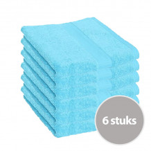 Clarysse Voordeelpakket Talis Handdoek Aqua 6 stuks