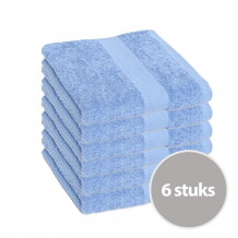 Clarysse Voordeelpakket Talis Handdoek 50x100 cm 500gram Gauloise 6 stuks