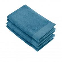 Walra Soft Cotton Gastendoek 30x50 cm 550 gram Petrol - 4 stuks