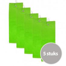 The One Golfhanddoek 450 gram Lime groen (5 stuks