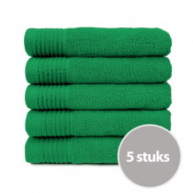 The One Handdoek 450 gram 50 x 100 cm Groen