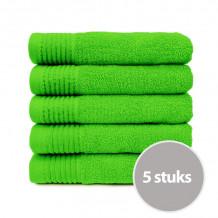 The One Handdoek 450 gram 50 x 100 cm Lime