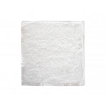The One Gasten Handdoek 450 gram 30 x 30 cm Wit