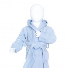 The One Baby Badjas 340 gram Licht Blauw
