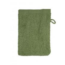 The One Washandje 450 gram 15x21 cm Olive Green