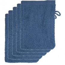 The One Voordeelpakket Washandjes Faded Denim - 10 stuks