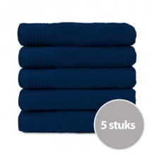 The One Handdoek Deluxe 50x100 550 gr Navy Blue