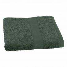 Clarysse Talis handdoek 50x100 Donkergroen