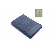 Walra Remade Cotton Handdoek 70 x 140 cm 550 gram Blauw