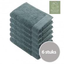 Walra Remade Cotton Handdoek 70 x 140 cm 550 gram Jade - 6 stuks