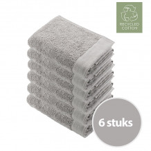 Walra Remade Cotton Handdoek 50 x 100 cm 550 gram Zand - 6 stuks