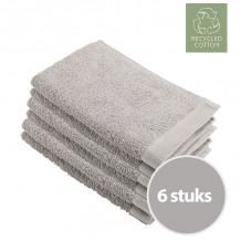 Walra Remade Cotton Gastendoekje 30 x 50 cm 550 gram Zand - 6 stuks