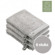 Walra Remade Cotton Washandje 16 x 21 cm 550 gram Zand - 6 stuks