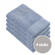 Walra Voordeelpakket Douchelaken 70x140 Blue - 4 stuks