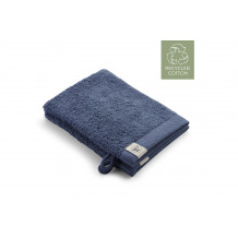 Walra Remade Cotton Washandje 16 x 21 cm 550 gram Blauw - 2 stuks