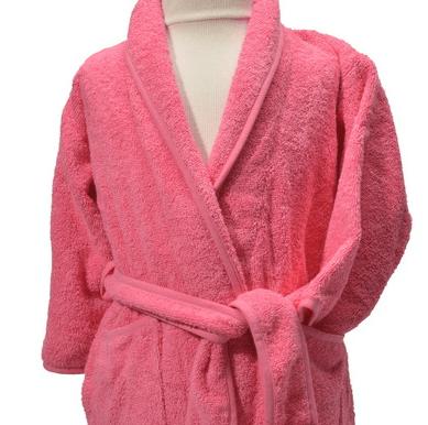 Clarysse Kimono kinderbadjas zonder capuchon Roze 134/140