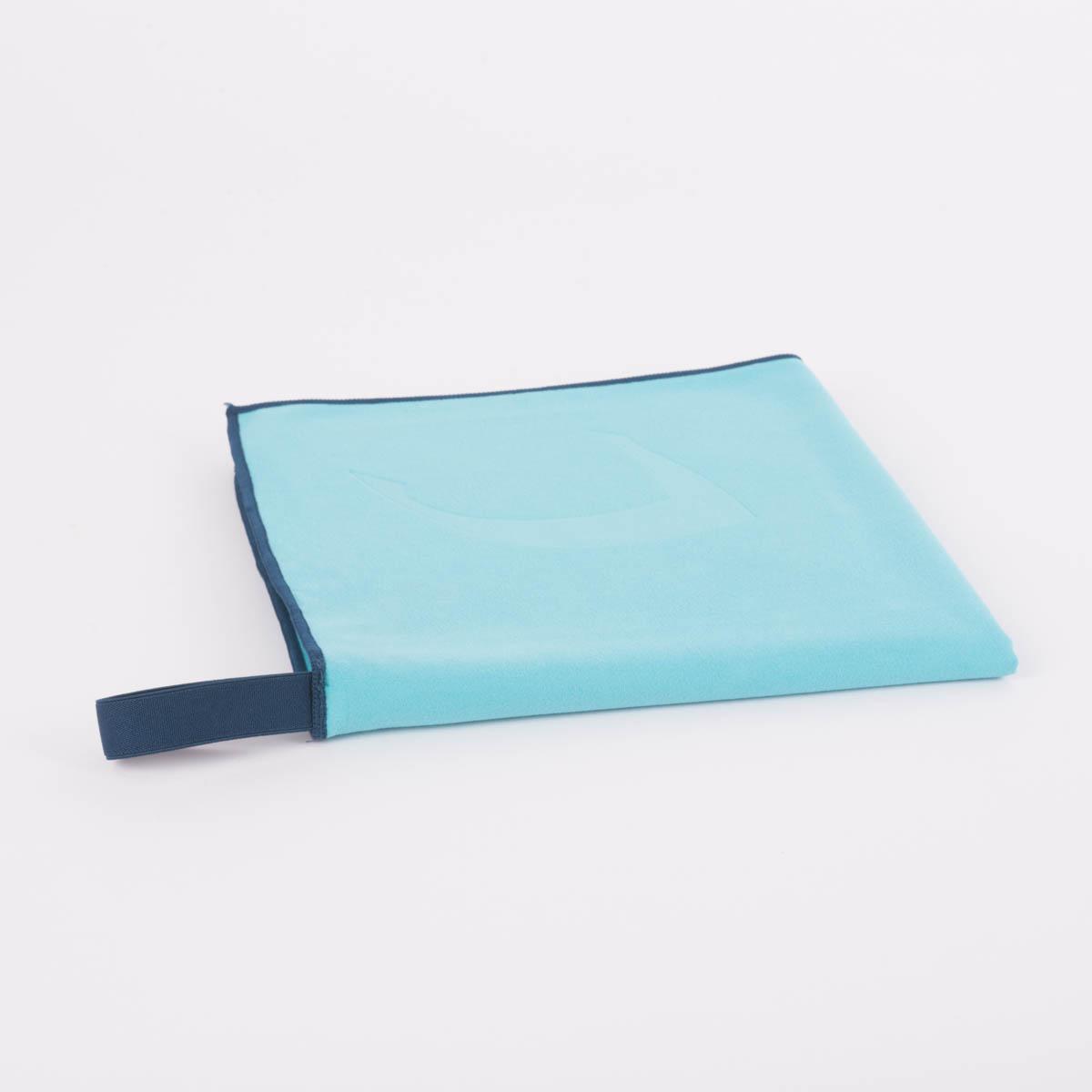 Clarysse Microvezel sneldrogende badlaken 80x150 Aqua