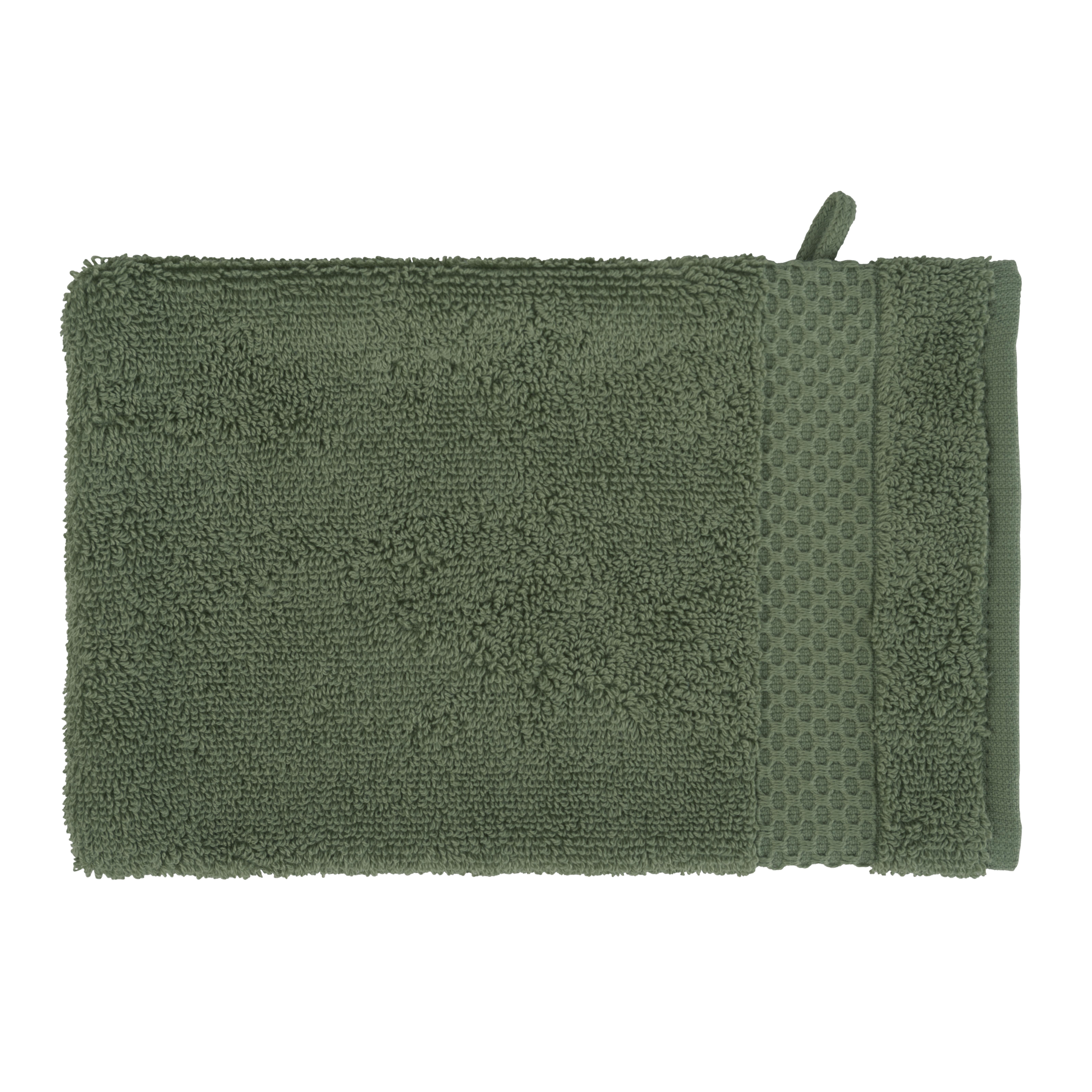 Clarysse Florence washandjes 2 stuks Groen